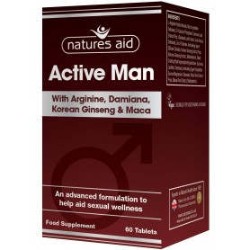 Natures Aid Active Man, 60 comprimate vegetale