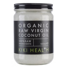 ORGANIC RAW VIRGIN COCONUT OIL 500ML KIKI HEALTH
