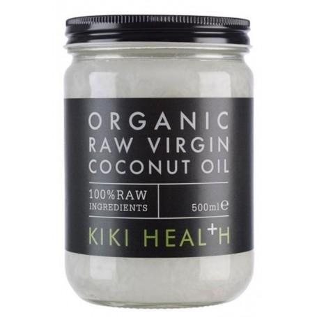 ORGANIC RAW VIRGIN COCONUT OIL 500ML KIKI HEALTH