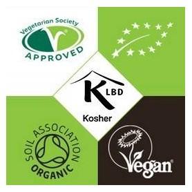 Ulei de Cocos 200ml Raw Organic Extra Virgin - 52% Acid Lauric si Certificat Kosher