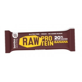Baton Raw Protein cu Banane 50gr   d3