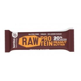 Baton Raw Protein cu Unt de Arahide 50gr