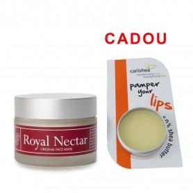 Crema Masca Antirid 50 ML cu Miere de Manuka + Balsam de buze - Unt de shea, Miere si Portocala 8gr Cadou