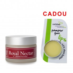 Crema Masca Antirid 50 ML cu Miere de Manuka + Balsam de buze - Unt de shea, Lime si Menta 8 Gr Cadou