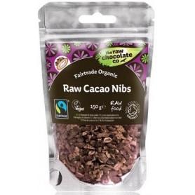 Bucati de Boabe de Cacao RAW Organice 150 g