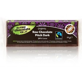 Ciocolata Neagra 72% Cacao RAW Organica   22g