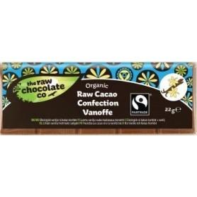 Ciocolata Neagra cu Aroma de Caramel Vanilat RAW Organica 22g