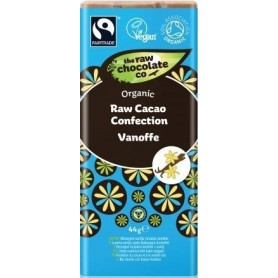 Ciocolata Neagra cu Aroma de Caramel Vanilat RAW Organica 44g