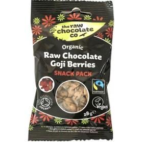 Fructe de Goji invelite In Ciocolata RAW 28 g