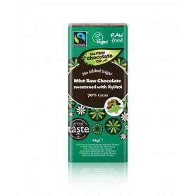 Ciocolat cu Menta Fara Zahar RAW Organica 44 G