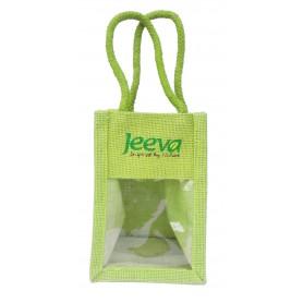 Sacosa mica verde Jeeva