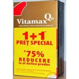 Pachet Promo Vitamax Q10 15 cps (1+1)