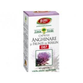 Anghinare si Frunze de Maslin, 60 capsule