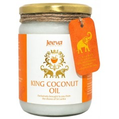 Ulei de Cocos King Raw Organic Extra Virgin Jeeva 500ML