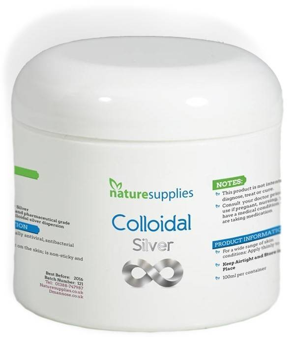 argint coloidal premium gel 100ml