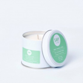 Lumanare Crema cu Lemongrass - Rejuvenation 200ml/225g
