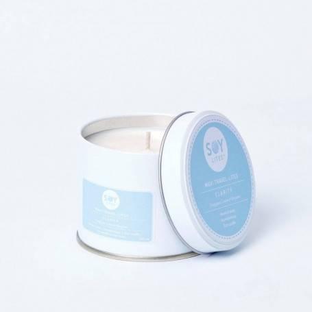 Lumanare Crema cu Bergamont - Clarity 200ml/225g