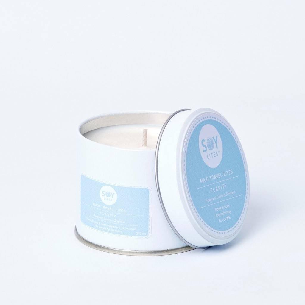 Lumanare Parfumata Crema cu Bergamont - Clarity 200ml/225g