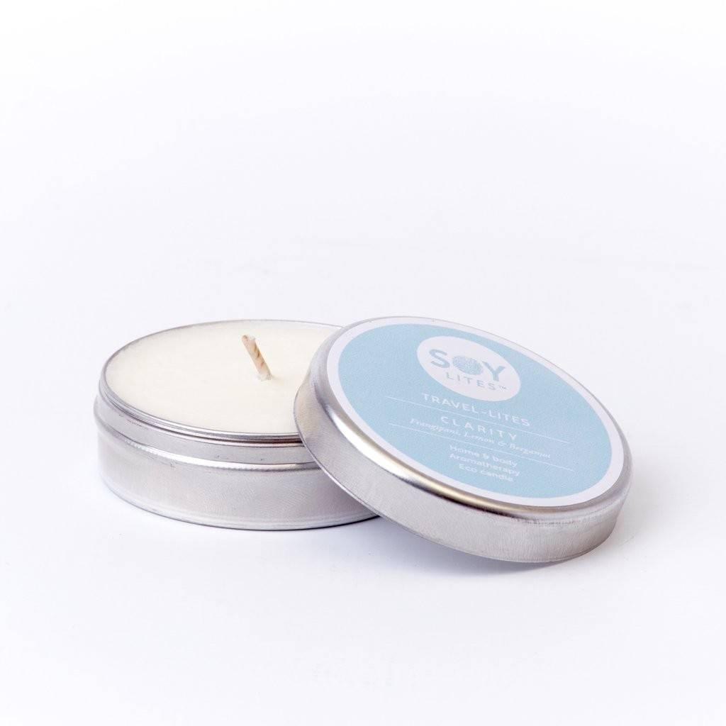 Lumanare Parfumata Crema cu Bergamont - Clarity 55Ml/74Gr