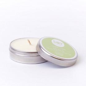 Lumanare Crema cu Eucalyp - Energise 55Ml/74Gr