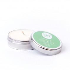 Lumanare Parfumata Crema cu Lemongrass - Rejuvenation 55Ml/74Gr