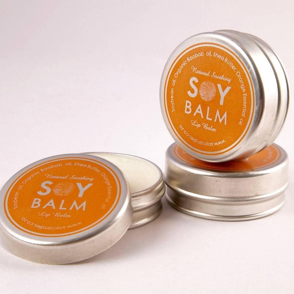 Balsam de buze cu Portocal - SoyLites