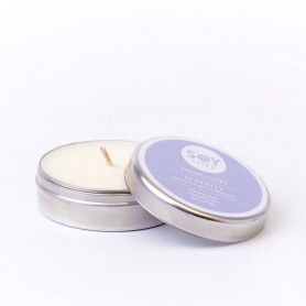 Lumanare Crema cu Lavanda - Serenity 55ML/74Gr