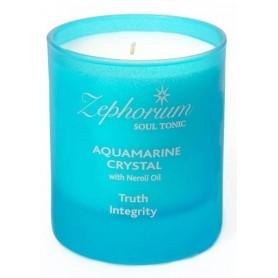 Lumanare Aquamarin Crystal cu Ulei de Neroli