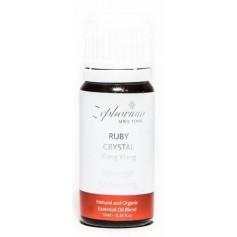 Ulei Esential Organic Ruby Crystal cu Ulei de Ylang Ylang