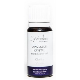 Ulei Esential Organic Lapis Lazuli Crystal cu Ulei de Tamaie