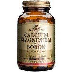 CALCIUM MAGNESIUM + BORON tabs 100cps SOLGAR