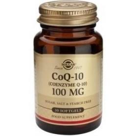 COENZYME Q-10 100mg 30caps SOLGAR