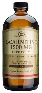 l-carnitine 1500mg liquid 473ml solgar