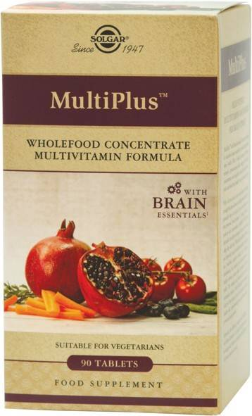 multiplus brain 90tabs solgar