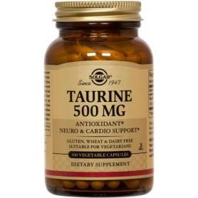 TAURINE 500mg veg.50cps SOLGAR
