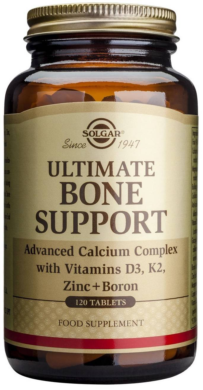 ultimate bone support complex tabs 120tb solgar