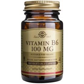 VITAMIN B-6 100mg veg.caps 100cps SOLGAR