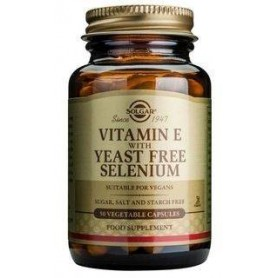 VITAMIN E + SELENIUM veg.caps 60cps SOLGAR