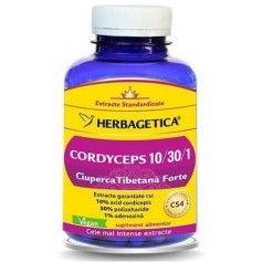 Cordyceps 10/30/1 Ciuperca Tibetana Forte 120cps