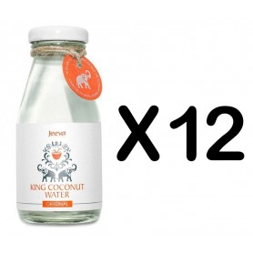Set 12 Sticle Apa de Nuca de Cocos Original 200ml Jeeva