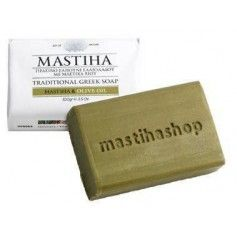 Sapun traditional Grecesc cu ulei de masiline si  chios mastiha 100g