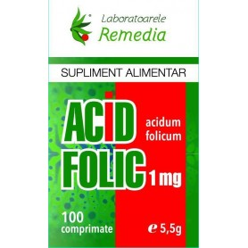 ACID FOLIC 1MG 100CPR