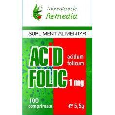 ACID FOLIC 1MG 100CPR