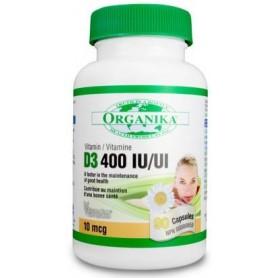 Vitamina D3 Forte 400 UI 90 de capsule