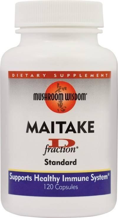maitake d-fraction 120cps