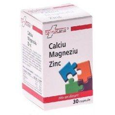 Calciu Magneziu Zinc 30 Cps FARMACLASS