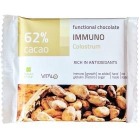 Ciocolata functionala immuno (62% cacao) 50g