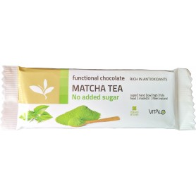 Ciocolata functionala cu ceai verde Matcha 25g