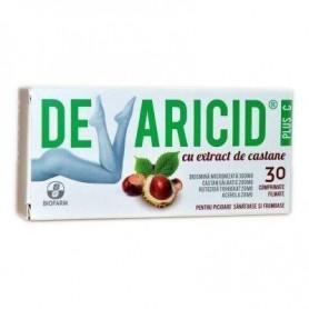 Devaricid cu extract de castane 30cpr