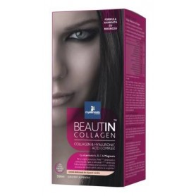 BEAUTIN COLLAGEN CAPSUNI-VANILIE SI MAGNEZIU / CAPSUNI-VANILIE LIQUID 500ML